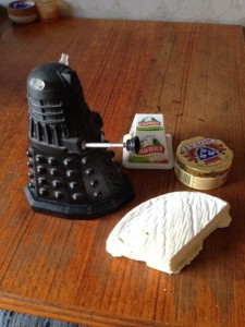 Dalek cheese
